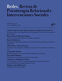 REDES. Revista de Psicoterapia Relacional e Intervenciones Sociales. Diciembre, 2019