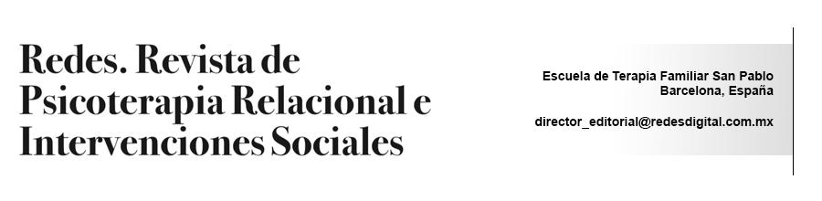 REDES. Revista de Psicoterapia Relacional e Intervenciones Sociales